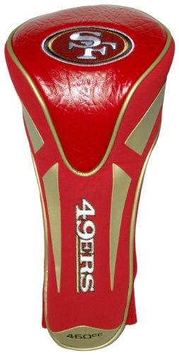 (Team Golf NFL San Francisco 49ers Golf Club Single Apex Driver Headcover, Fits All Oversized Clubs, Truly Sleek Design)