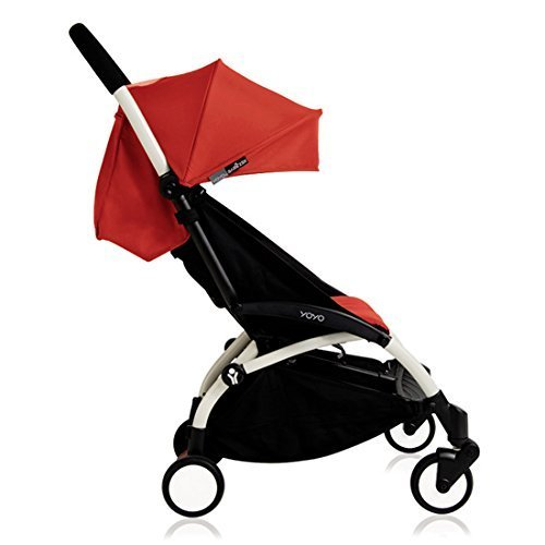 Babyzen YOYO+ Stroller, White/Red by Baby Zen