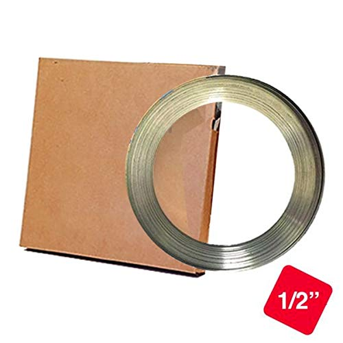 "Pier Telecom 201 Stainless Steel Band 1/2"" X 0.030"" X 100"
