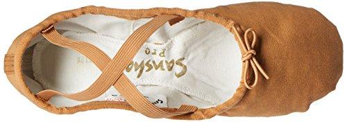 Sansha Pro 1 Canvas Ballettschuh Fleisch