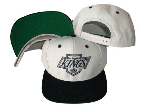 Los Angeles Kings White/Black Two Tone Snapback (Los Angeles Black And White)