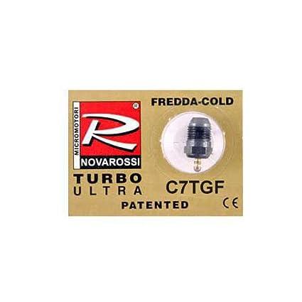 Novarossi Turbo #7 Short Body Ultra Glow Plug (Cold)