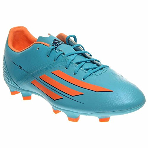 adidas Performance Women's F30 TRX Firm-Ground W Soccer Cleat, Samba Blue/Glow Orange/Collegiate Purple, 9.5 M US by adidas