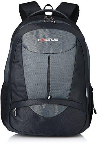 Cosmus Eden DX Black - Grey Polyester Waterproof Large Laptop...