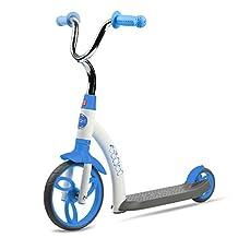 Vokul Blue Gx01 Mini Kick 2 Wheel Scooter Mini Kick Scooter with Big Wheel for Age 2-5