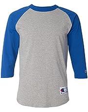 Champion Camiseta de béisbol raglán para Hombre