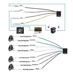 41TU ps9yzL. SS300  - Andven-Hands-Free-Bluetooth-Car-Radio-Digital-Media-Receiver-4-x-60-W-1-DIN-Car-Radio-USB-SD-AUX-MP3-Player-Receiver-with-Remote-Control