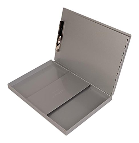 DiversiTech 30306 SNAPAK Clipboard on Box with Hinged Back, 8-1/2