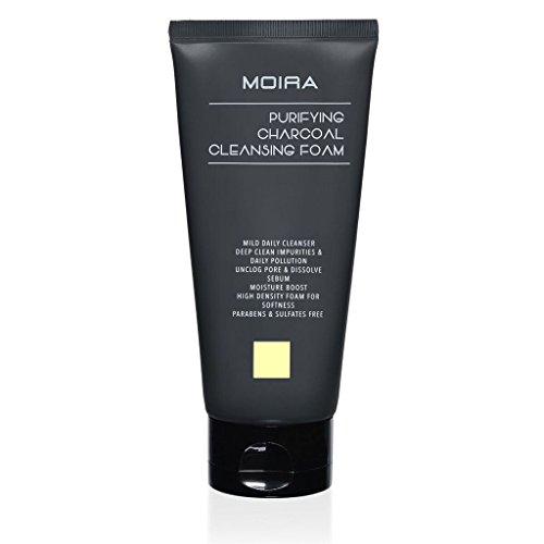 MOIRA PURIFYING CHARCOAL CLEANSING FOAM