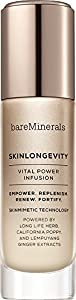 bareMinerals SkinLongevity Vital Power Infusion Serum, 1.7 Ounce
