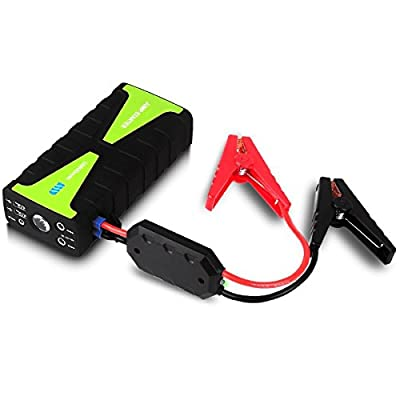 Car Battery Jump Starter, 16800mAh 12V 800A Peak Current Portable Automotive Jump Starter Power Bank Battery