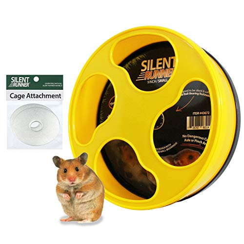 """Exotic Nutrition Silent Runner 9"""" - Wheel + Cage"""