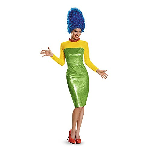 Disguise Women's Marge Deluxe Adult Costume, Multi, X-Large