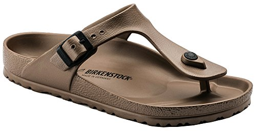 (Birkenstock Women's Gizeh Metallic Copper EVA Sandals 40 (US Women's 9-9.5))