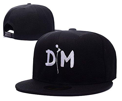 - DEBANG Depeche Mode Dm Logo Cap Embroidery Snapback Hat