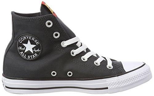 black 001 red Converse Black Ctas Negro red white Hi Adulto white Zapatillas Unisex Altas BOvxBpnw7q