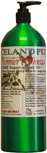 Iceland Pure Premier Omega Fish Oil For Large Breed Dog, 17-Ounce