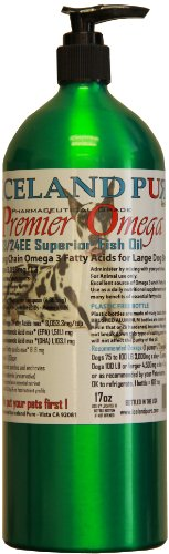Cheap Iceland Pure Premier Omega Fish Oil For Large Breed Dog, 17-Ounce