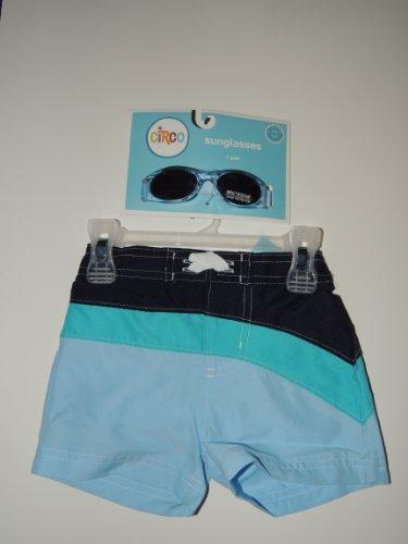 Baby Boy Swim Trunks with Glasses (S 6m)