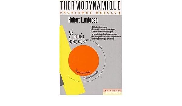 LIVRE GRATUIT GRATUIT TÉLÉCHARGER THERMODYNAMIQUE LUMBROSO