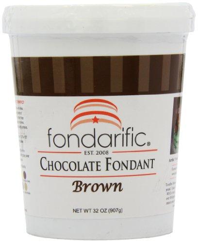 Fondarific Chocolate Fondant Brown, 2-Pounds by Fondarific (Image #11)'