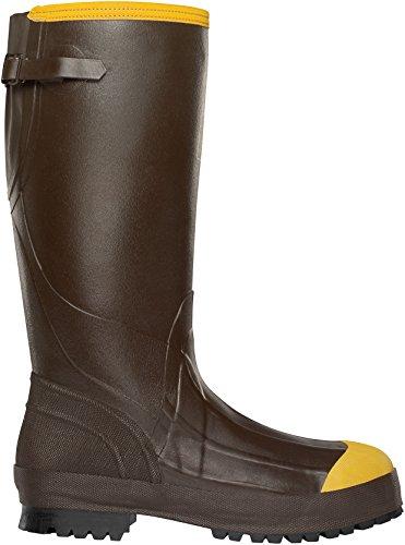 LaCrosse Men's Alpha Aggressive 3.5 MM Steel Toe Work Boot, Brown, 10 M US ()