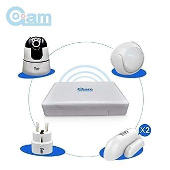 Alarma Hogar WiFi Grabador NVR Detectores Camara de seguridad: Amazon.es: Industria, empresas y ciencia
