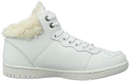 Jeans Collo 800white Lindsay Alto a Pepe Sneaker Donna Bianco AxUwBRfq