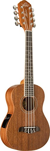 Oscar Schmidt OU28TE 8-String Tenor Ukulele, Satin Finish by Oscar Schmidt