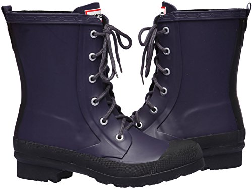 Paperplanes-1320 Mujer Trendy Botas Impermeables De Lluvia Wellington Navy