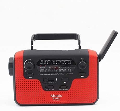 Andoer Multifunction FM Radio FM/AM/SW Solar Hand Crank Radi