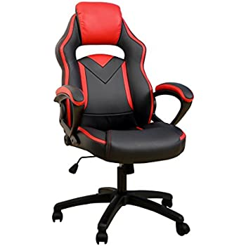Elegant Merax Office Chair Computer Gaming Desk Chair Racing Style High Back Racing Chair