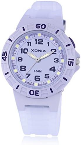 子供腕時計少年少女学生Luminous防水クォーツmovement-f