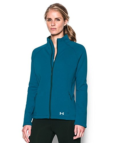 Under Armour Womens Ua Granite Jacket Peacock Aqua Falls Outerwear Lg  Us 12 14