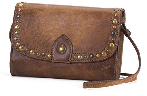 FRYE Melissa Western Wallet Crossbody, Cognac by FRYE