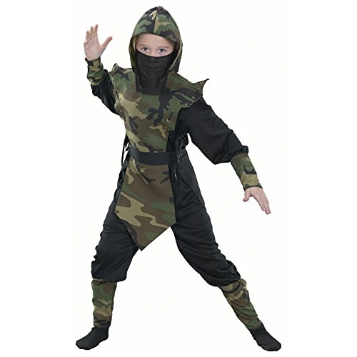 Child (Childrens Camouflage Ninja Costumes)