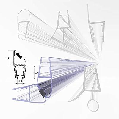 Junta de ducha de .one Bath para puertas de ducha de 6 mm - 8 mm ...