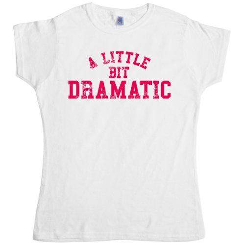 Ptshirt.com-19213-Womens T Shirt - A Little Bit Dramatic - 8Ball Originals Tees-B008PRYKFG-T Shirt Design