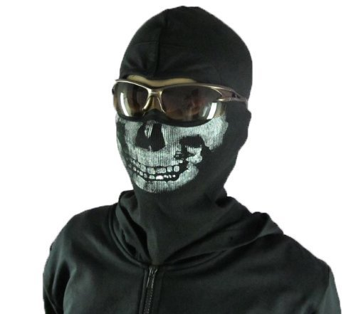 Price comparison product image MW2 Ghost wind Skull mask (balaclava) skull / skeleton face mask / balaclava Call of Duty Call of Duty Modern Warfare 2 (CoD MW2) [amount-limited] (japan import)