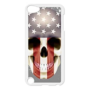 Personalized Unique Design Case for Ipod Touch 5, Skull Cover Case - HL-R636678