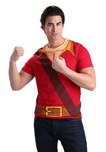 Men's Gaston Costume T-Shirt Small - Gaston Costume Fancy Dress