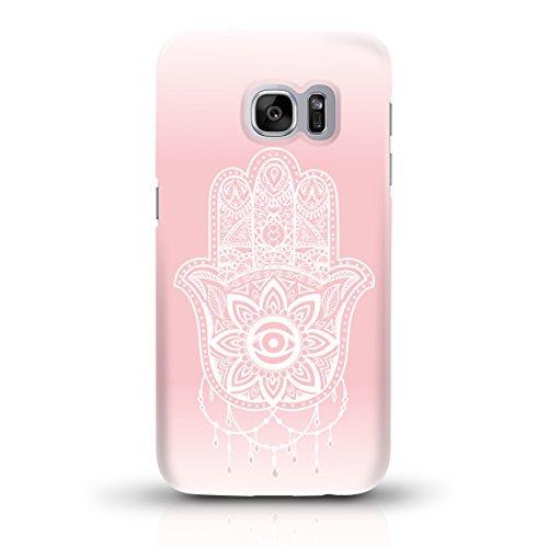 """JUNIWORDS Handyhüllen Slim Case für Samsung Galaxy S7 - Motiv """"Hand of Fatima rosa"""" Schutzhülle für Ihr Smartphone"""