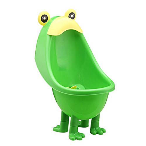 3 Lights Up Costumes Step (Pansupply New Frog with foots children potty toilet training kids urinal for boys pee trainer)