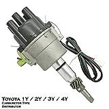 Electronic Carburetor Ignition Distributor Fits For Toyota 1Y 2Y 3Y 4Y Hilux HiAce Crown Dyna 4Runner LiteAce TownAce Tarago