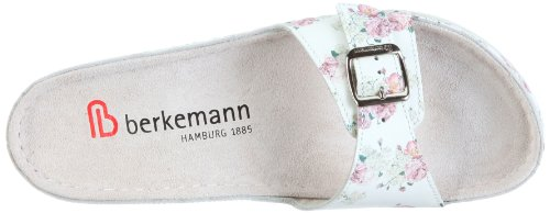 Berkemann Verden 00734-052 - Zuecos de cuero para mujer Blanco