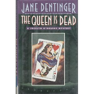 book cover of The Queen is Dead