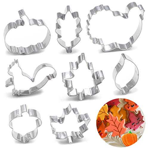 8PCS Large Thanksgiving Cookie Cutter product image