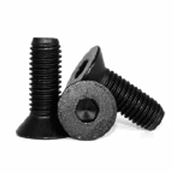 Metric M2 5 X 5mm Flat Head Socket Cap Screw Black Pack