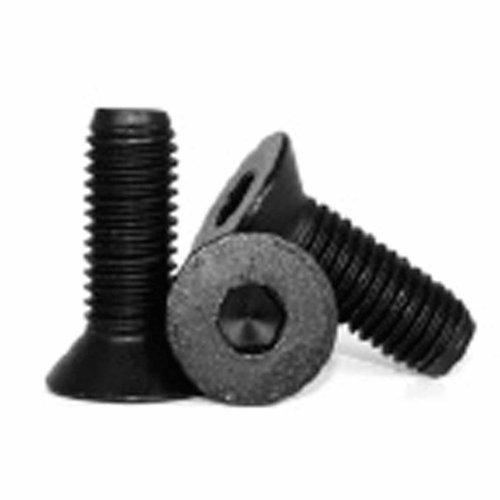Metric M2.5 X 4mm Flat Head Socket Cap Screw; Black; Pack of 10
