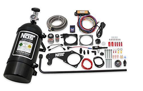 NOS 05184BNOS Black Wet Nitrous Kit for Dodge Challenger/Charger/Chrysler 300C Hemi